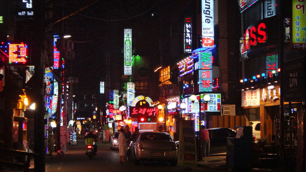 Seoul at night-flickr-Ädrian