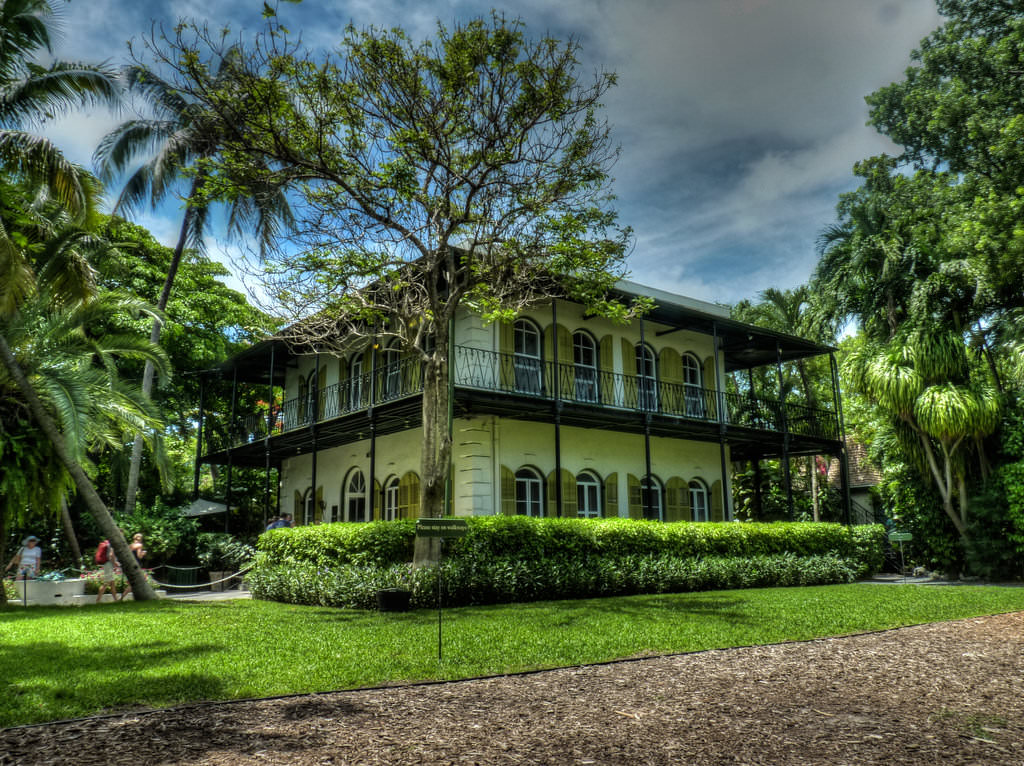 16. The Ernest Hemingway Home and Museum in Key Wes