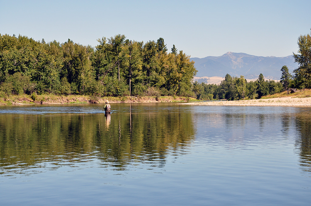 Flyfishing the Bitterroot River-flickr-Missoula Real Estate Guide