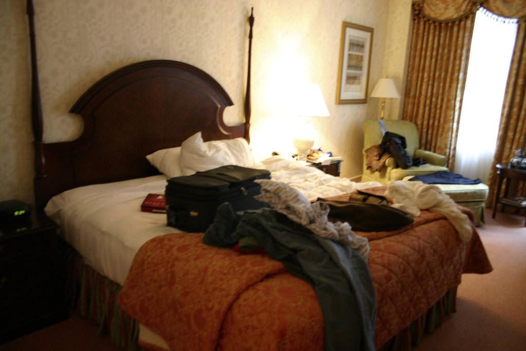 Hotel room San Francisco-flickr-GregPC