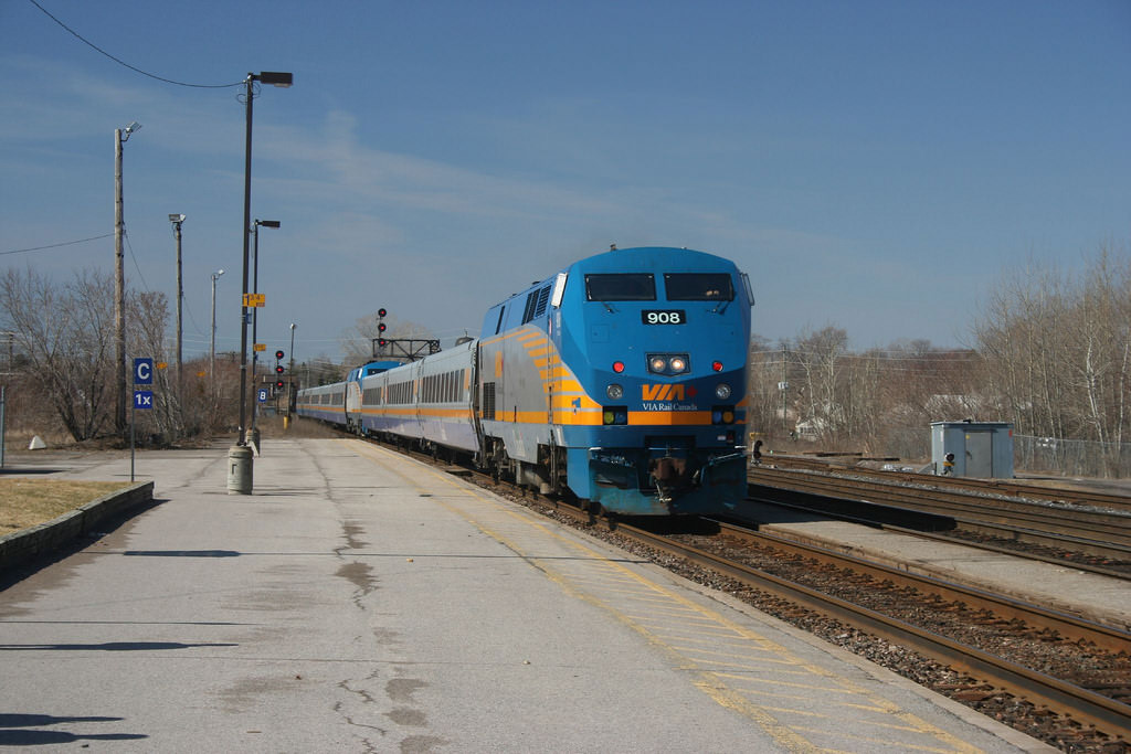 Train Travel Across The United States