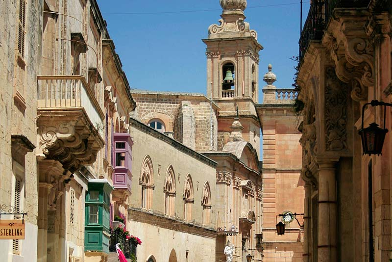 https://www.flickr.com/photos/christianstock/  Triq Villegaignon onto the Palazzo Santa Sophia